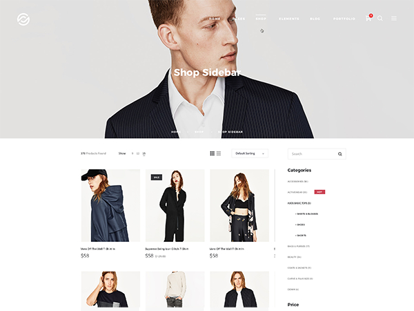 Shop Sidebar